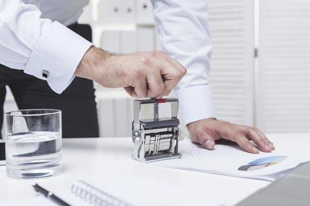 Экспертиза печати и штампа